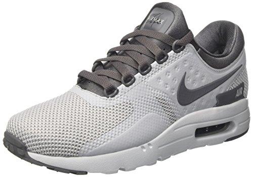 Nike Herren Air Max Zero Essential Sneaker, Grau (Wolf Grey/Dark Grey-Pure Platinum-Black), 42 EU