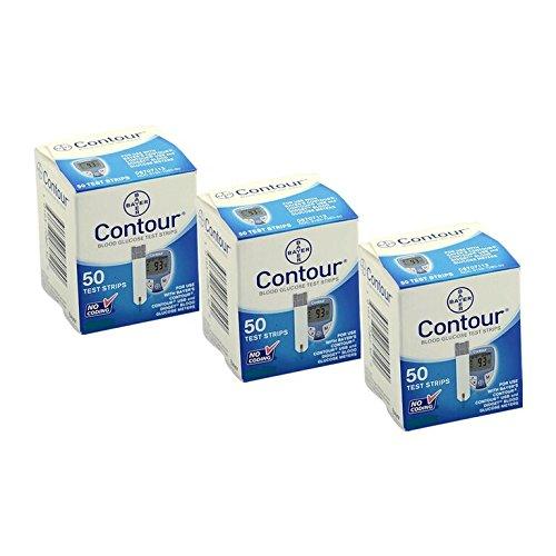Bayer Contour Teststreifen 3x50er Box 150St. vorm. Bayer Ascensia Sensoren MHD 01.2021