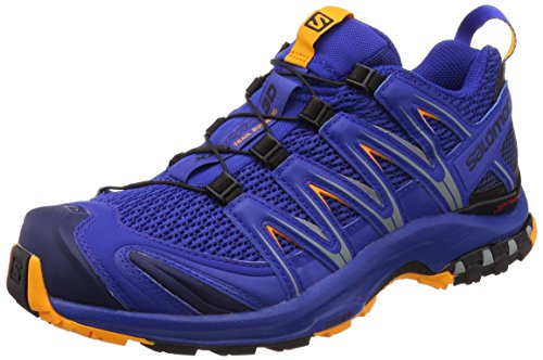 Salomon Xa Pro 3D, Scarpe da Trail Running Uomo, Blu (Surf The Web/Medieval Blue/Bright M 000), 41 1/3 EU
