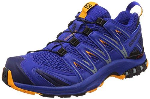 Salomon XA Pro 3D, Zapatillas de Senderismo para Hombre, Azul (Surf The Web/Medieval Blue/Bright M), 41 1/3 EU