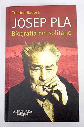 Josep pla biografia del solitario