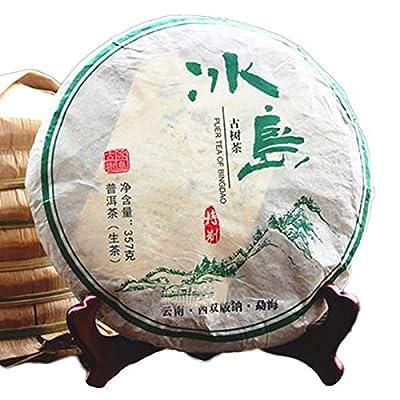 357g (0,787LB) thé Pu'er mûr au thé Puer mûr Bingdao ancien thé au thé noir cuit au thé Pu-erh thé au Pu erh thé chinois au thé en bonne santé Puerh thé au thé rouge