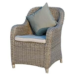 ambientehome 63436am sessel barbados polyrattan braun. Black Bedroom Furniture Sets. Home Design Ideas