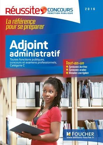 Concours Adjoint Administratif - Tout-en-un - Réussite Concours Nº5