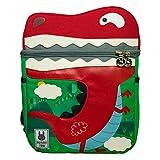 Sheng Xuan School Bag Kids Book Zaino Neonate 4-8, Dinosauro Zaino Nylon School Bag Zaino Carino Ragazze leggere Bambini Studenti Bag School (Dinosauro Verde)