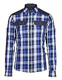 Jeff Green Herren Freizeitshirt Cooper, Größe - Herren:58;Farbe:Blue Check Repeat