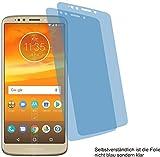 4ProTec 2X Crystal Clear klar Schutzfolie für Motorola Moto E5 Plus Displayschutzfolie Bildschirmschutzfolie Schutzhülle Displayschutz Displayfolie Folie