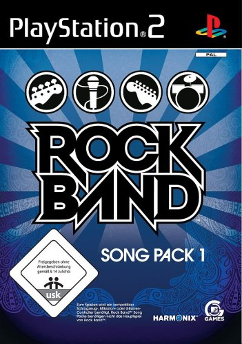 Rock Band: Song Pack 1 - Band Rock Ps2