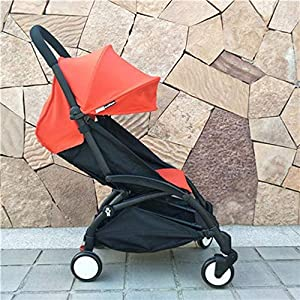 C.N. High Landscape Baby Stroller Can Sit Reclining Light Folding Shock Absorber Baby Child Portable Umbrella   7