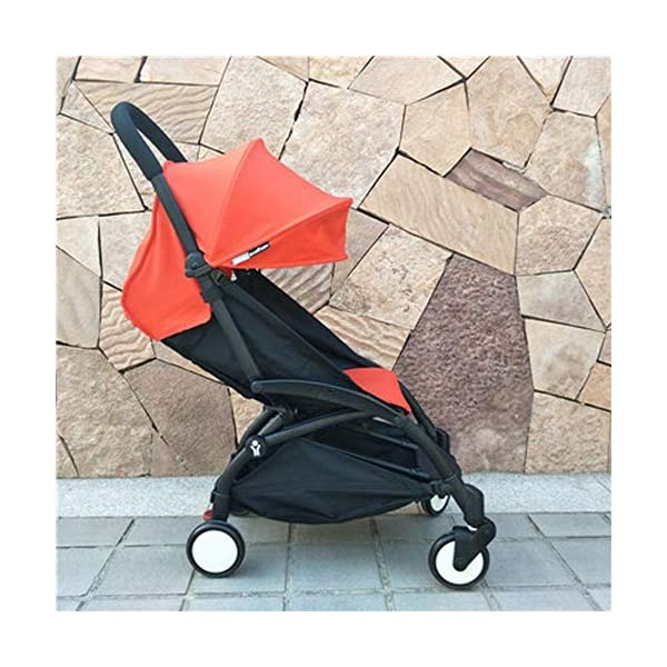 C.N. High Landscape Baby Stroller Can Sit Reclining Light Folding Shock Absorber Baby Child Portable Umbrella C.N. Provides a child's awning to protect your baby from wind and rain while ensuring good ventilation For added safety, an adjustable seat belt is provided to ensure safety without restricting the movement of the baby. The rain cover provides the child with a rain cover on a rainy day, and it can also protect against cold and warm in winter, and it does not affect the visual effect. 1