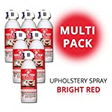 SimplySpray - Upholstery Spray Bright Red - Textilfarbe Rot (Multipack)