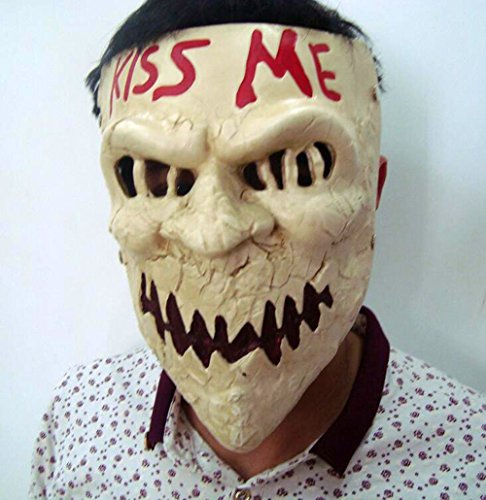 Kostüm Dress Kiss Up - Gmasking Harzmaske für Halloween, zum Neujahr, Kiss Me