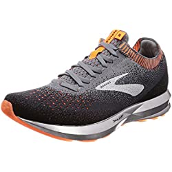 Brooks Levitate 2, Scarpe da Running Uomo, (Grey/Black/Orange 026), 42.5 EU