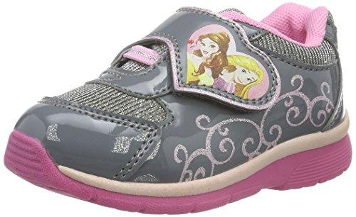 Disney PrinzessinGirls Kids Athletic Sport - Scarpe da Ginnastica Basse Bambina , Argento (Silber (Pewter/PEWTE 329)), 27