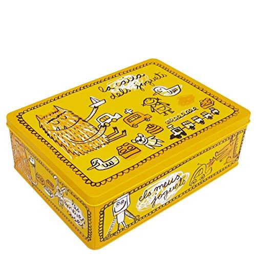 laroom-12364-caja-metalica-la-caixa-dels-joguets-color-amarillo