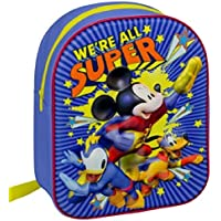 Disney Mickey Mouse 3D Junior Backpack