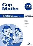 Cap Maths CE1 - Matériel photocopiable