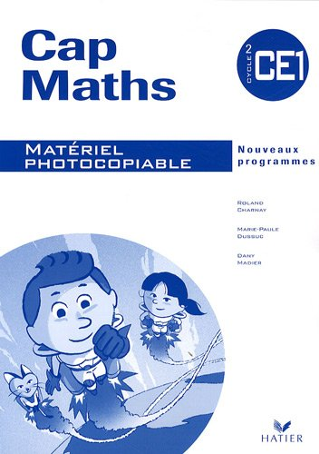 Cap Maths CE1 : Matériel photocopiable