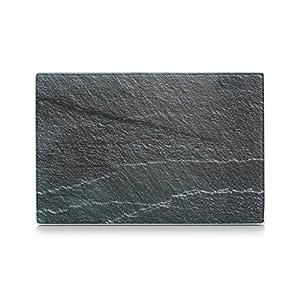 Zeller 26256 Glasschneideplatte Schiefer, anthrazit