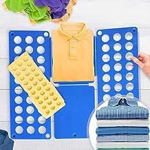 ... 70/59 cm) y Amarillo (L/H: 50/40cm) | Tablero para Plegar Camisas, Folding Board, Clothes Folder | para Camisetas, Camisas, Jerseys, Toallas, Sábanas