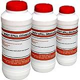 Qualicare Blood Body Fluid Spill Vomit Emergency Absorbent Granules, 3 x 500g Bottle