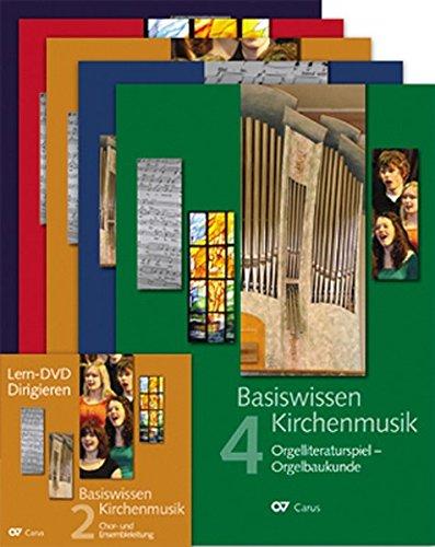 Basiswissen Kirchenmusik (Set): Ein ökumenisch konzipiertes Lehrbuch in vier Bänden zur Ausbildung und Berufsbegleitung nebenberuflicher Kirchenmusikerinnen und Kirchenmusiker.