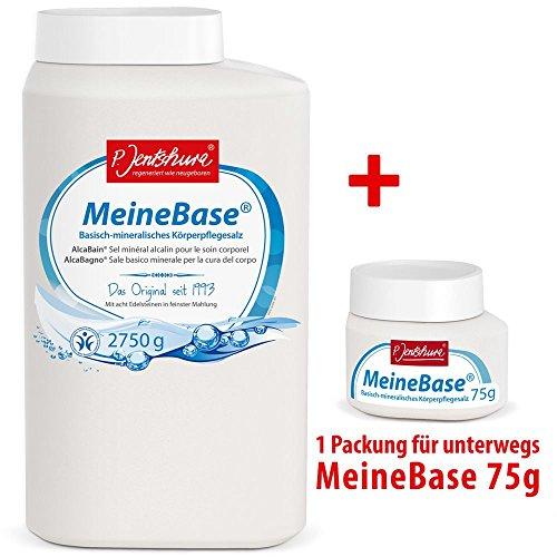 Preisvergleich Produktbild P. Jentschura Meine Base 2750 g + Meine Base 75 g