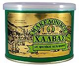 Griechisch Makedonikos Halva mit Pistazien-Nuss Haitoglou 500gr Blechdose