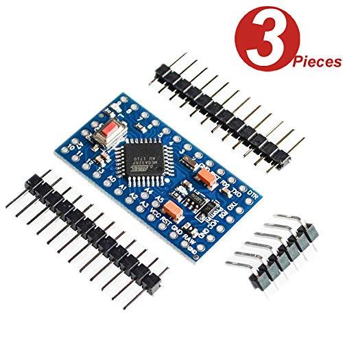 DollaTek 3Pcs PRO Mini Enhancement ATMEGA328P 16MHz 5V Compatible con Arduino PRO Module TE362