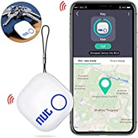 Morza 2PCS Mini Intelligente Anti-Perte Key Finder Tracker sans Fil Bluetooth Rappel dalarme GPS Perdu iOS Android