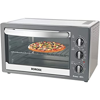 Borosil Prima BOTG42CRS14 42-Litre Oven Toaster Grill (Black)
