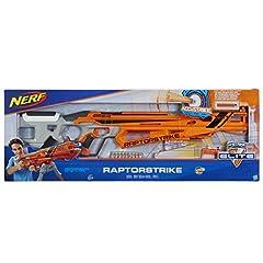 Idea Regalo - Hasbro Nerf c1895eu6–N-Strike Elite accust Rike Rap torst Rike, Giocattolo Blaster
