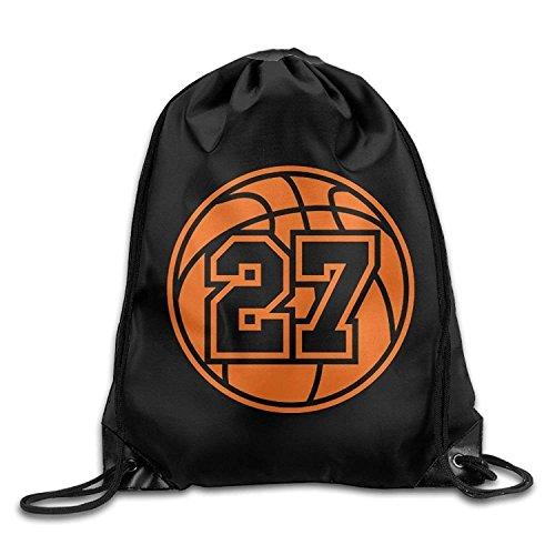 New Shorts Basketball Men & Women Drawstring Backpack Travel Bag