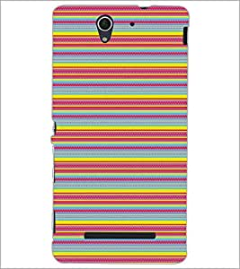 PRINTSWAG LINES PATTERN Designer Back Cover Case for SONY XPERIA C3