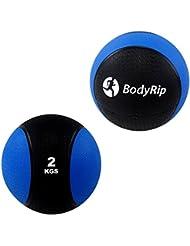 Balón medicinal 2kg Crossfit Bootcamp Artes Marciales Fitness Entrenamiento de Fuerza