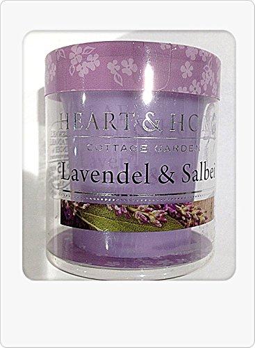 Heart and Home 3275020106 Votivkerze Lavendel & Salbei