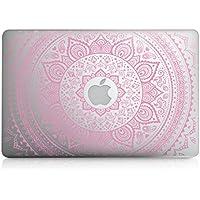 kwmobile Pegatina Sticker Diseño Sol hindú para Apple MacBook Air 13(a partir de mediados de 2011) película skin protectora para la parte delantera vinilo
