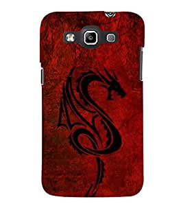 Dragon 3D Hard Polycarbonate Designer Back Case Cover for Samsung Galaxy Quattro Duos :: Samsung Galaxy Grand Quattro :: Samsung Galaxy Win Duos I8552
