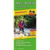 Wanderkarte Thale - Bodetal und Umgebung: Mit Ausflugszielen, Einkehr- & Freizeittipps und Stadtplan Thale, Detailkarte Hexentanzplatz, wetterfest, reissfest, abwischbar, GPS-genau. 1:25000