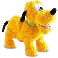 Cette peluche interactive Pluto fait tout comme un vrai chien : - il sait s'asseoir - faire le beau - se mettre à 4 pattes - se dandiner - aboyer - renifler Il est vraiment tout doux et surtout très rigolo ! Fonctionne avec 3 piles LR06 incluses. Dim...