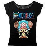 OnePiece Chopper Girl-Shirt schwarz L