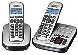 Audioline Master 382 DECT Schnurlostelefon mit zusätzlichem Mobilteil silber