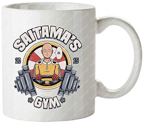 Saitama'S Gym Awesome Cool Training Manga Gym 2015...