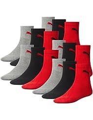 Puma Herren Short Crew Socks Frotteesohle 12er Pack Sportsocken