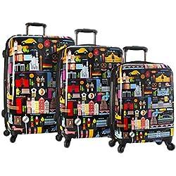 Heys - Juego de maletas Mujer niña Hombre niño multicolor large