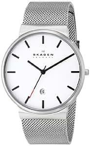 Skagen Herren-Armbanduhr XL Analog Quarz Edelstahl SKW6052