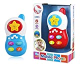 Rightway Funny Musical Mobile Phone Toys with Stars Projector Light Musical Toys