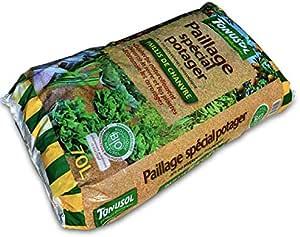 Miscanthus Green Care 20 litres Paillage en copeaux pour Petit Potager