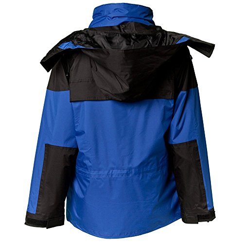 Planam Twister - Giaccone, colore blu e nero blu / nero