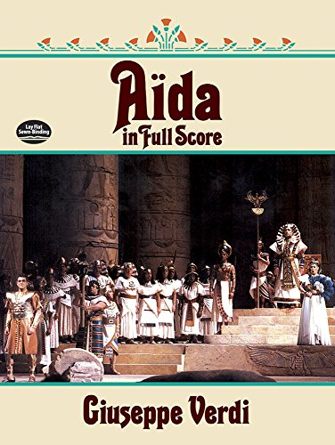 Aida in Full Score (Dover Vocal Scores) - Aida Stock